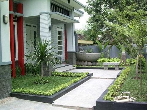 Desain eksterior rumah minimalis modern