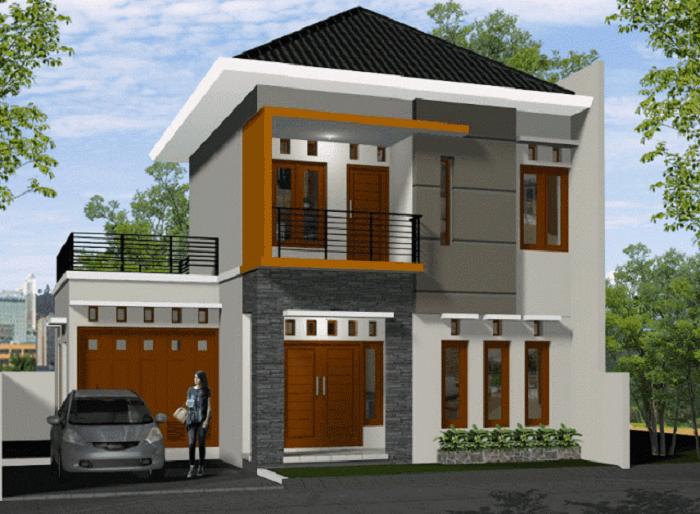 Model Rumah Minimalis 2 Lantai Modern Terbaru