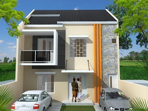 Desain Gambar Rumah Minimalis Tampak Depan yang Cantik