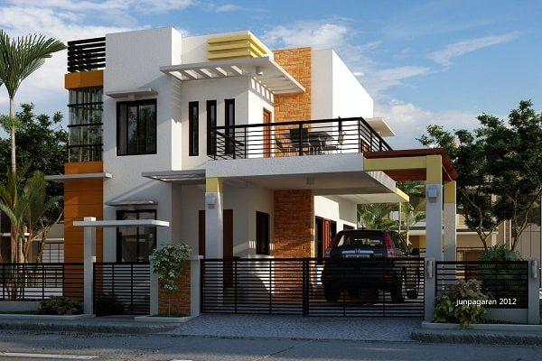 Desain Rumah Minimalis Modern 2 Lantai Terindah