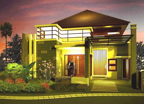 Gambar Model Rumah Minimalis Modern yang Elegan