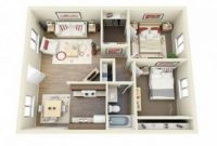 Inspirasi Denah Rumah Minimalis 2 Kamar yang Nyaman