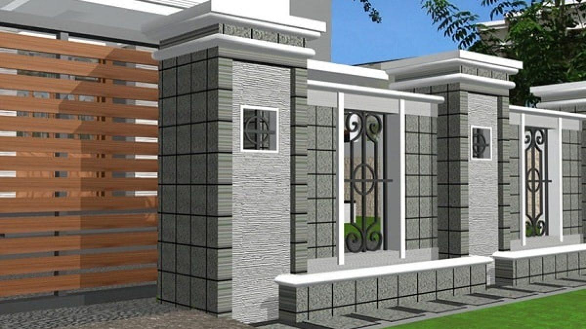Model Pagar Rumah Minimalis Batu Alam Modern Dan Kelebihannya