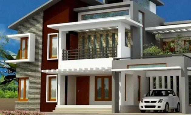 Model Atap Rumah Minimalis 2 Lantai Modern