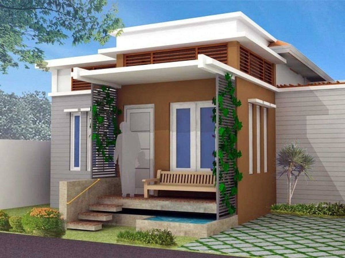 Model Atap Teras Rumah Minimalis Paling Asri Dan Elegan