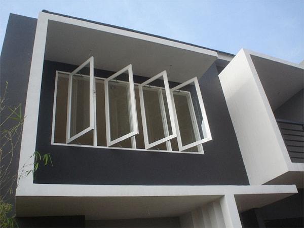 Model Jendela Aluminium Rumah Minimalis Terbaru 2017