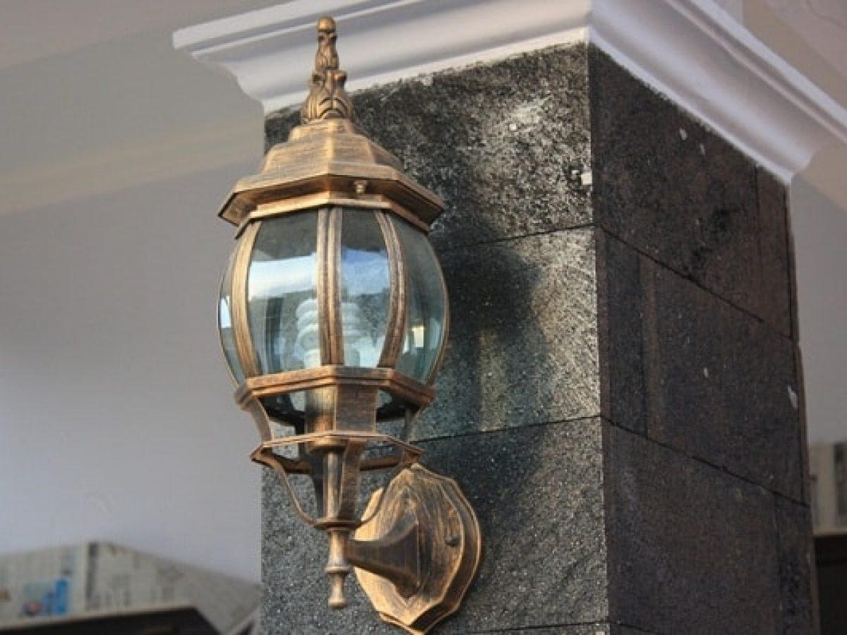 Model Lampu Pagar Rumah Minimalis