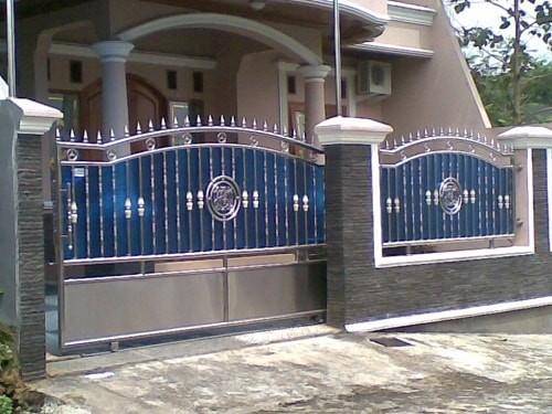 Model Pagar Rumah Mewah Terbaru