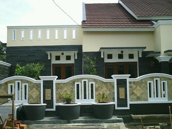 480 Gambar Pagar Tembok Rumah Minimalis Modern Gratis Terbaru