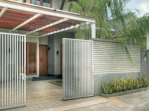 Pagar Rumah Minimalis Modern