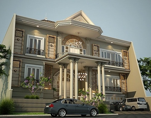 Desain Rumah Idaman Modern Klasik Terbaru