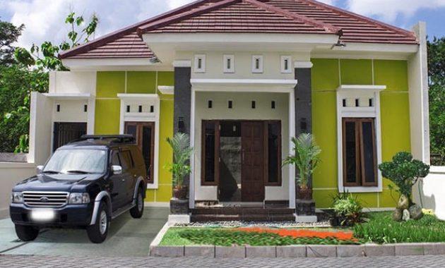 Inspirasi Model Rumah Idaman Sederhana Hijau