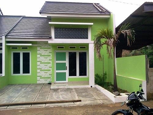 Paduan Warna Cat Dinding Luar Rumah Minimalis Terbaru
