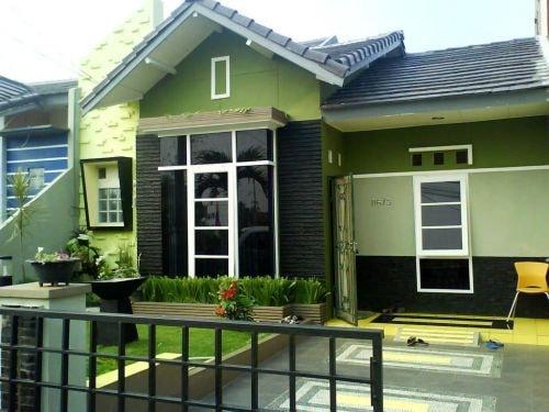 Warna Luar Rumah Terkini Desainrumahid com