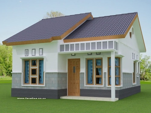 Desain Bentuk Rumah Minimalis Terindah 2017
