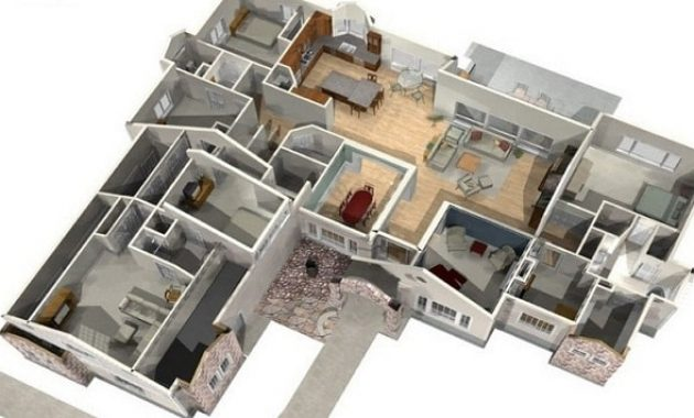 Ide Denah Rumah Idaman Minimalis Modern Terkini