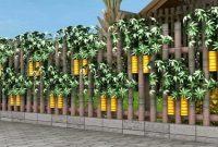 Inspirasi Aneka Model Pagar Kayu Rumah Minimalis