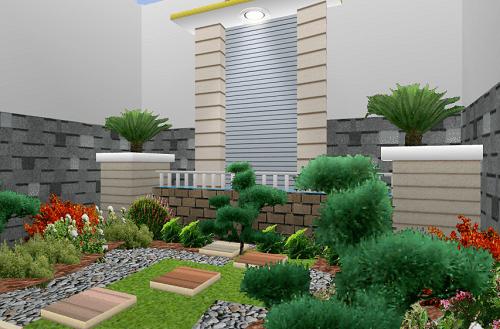 inspirasi desain taman rumah minimalis 1