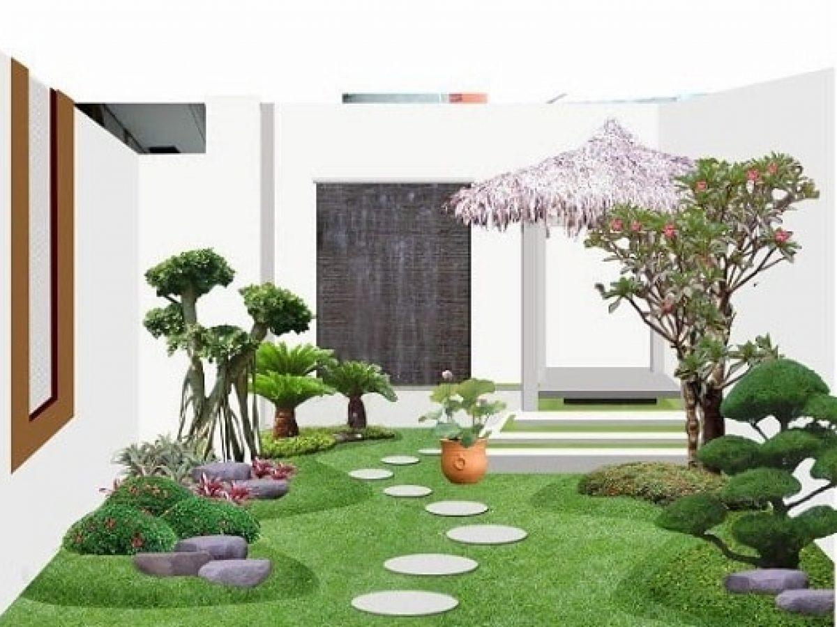 Inspirasi Desain Taman Rumah Minimalis Yang Elegan