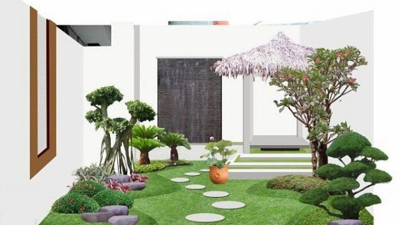 44 Koleksi Foto Desain Rumah Sederhana Yang Ada Tamannya HD Yang Bisa Anda Tiru