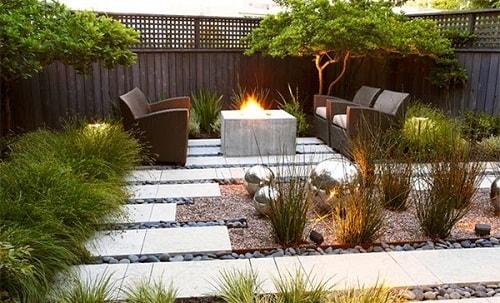 inspirasi desain taman rumah minimalis 3