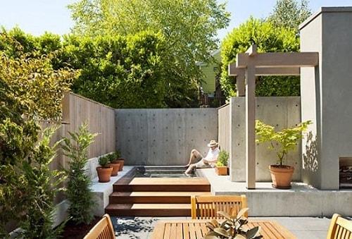 inspirasi desain taman rumah minimalis 4