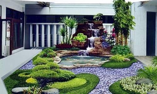inspirasi desain taman rumah minimalis 6