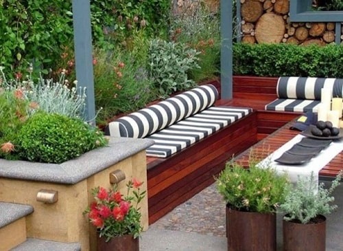 inspirasi desain taman rumah minimalis 7