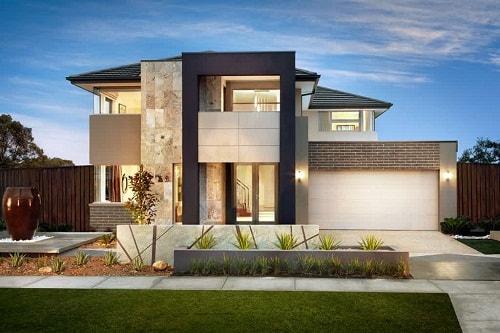 model gambar rumah tingkat minimalis mewah 6