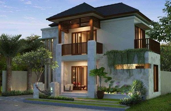 model gambar rumah tingkat minimalis mewah
