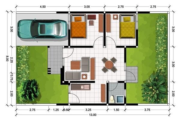 Sketsa Rumah Idaman Minimalis Terbaru yang Elegan