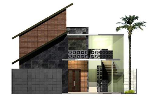 Gambar Bentuk Atap Rumah Minimalis yang Terbaru dan Eelgan
