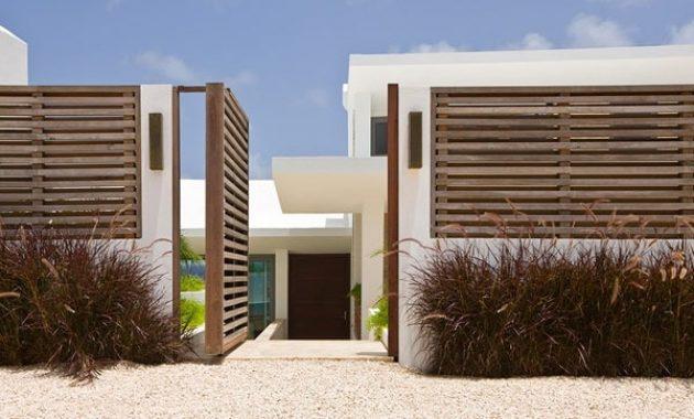 Ide Pagar Rumah Terkini Rumah Minimalis yang Modern dan Elegan