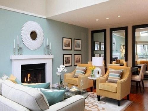 Inspirasi Warna Cat Ruang Tamu Sempit Agar Nampak Lebih Luas