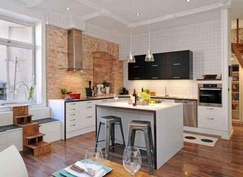 Aneka Inspirasi Menarik Dapur dengan Gaya Skandinavia Untuk Ruangan Sempit