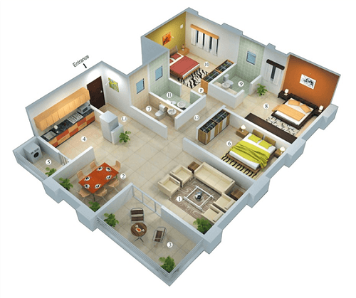 Desain Rumah Idaman Sederhana yang Paling Trend dan Digandrungi