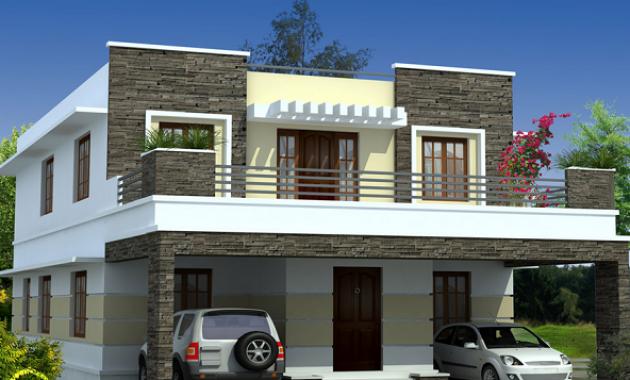 Ide Desain Balkon Rumah Minimalis 2 Lantai yang Modern