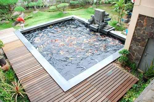 Model Kolam Ikan Minimalis Untuk Taman Rumah Idaman