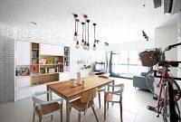 Inspirasi Desain Ruang Makan Minimalis Ala Cafe yang Modis