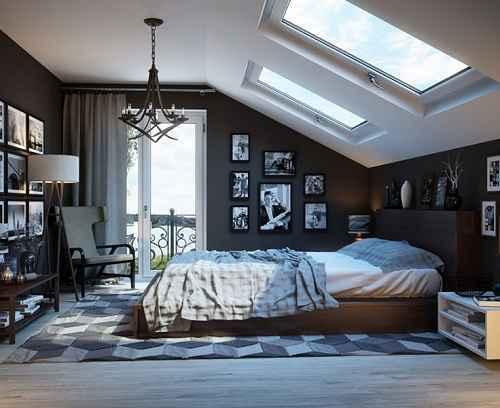 Koleksi Foto Desain Kamar Tidur Laki Laki dengan Nuansa Maskulin