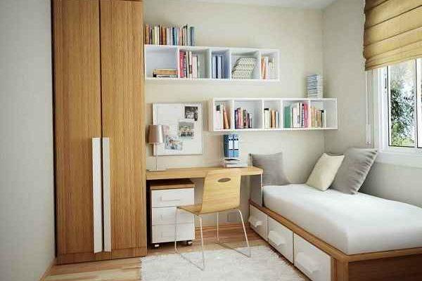 Inspirasi Desain Kamar Tidur Ukuran 3x4 dengan Dekorasi Menarik