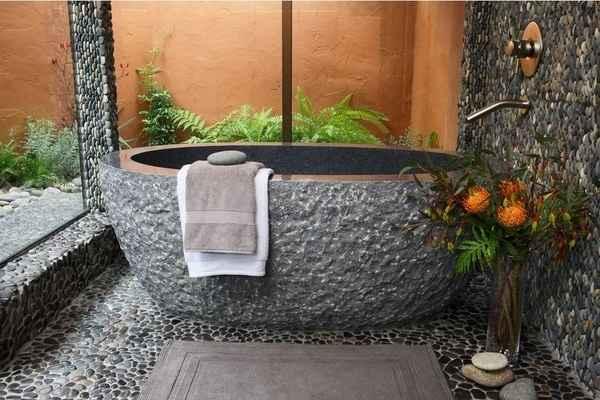 Model Kamar Mandi Batu Alam Rumah Minimalis yang Modern dan Mewah