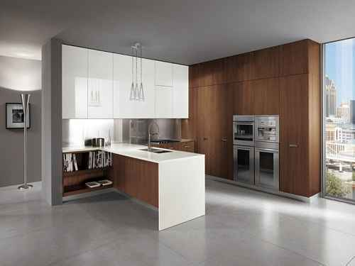 Ide Desain Dapur Minimalis Nuansa Italia yang Modern