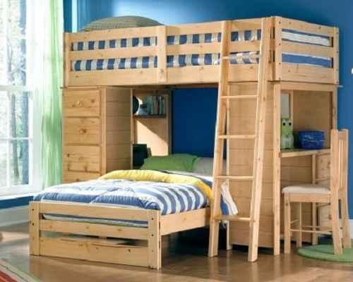 Ide Desain Ranjang Tidur Tingkat Untuk Kamar Minimalis