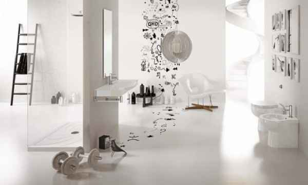 Inspirasi Stiker Dinding Untuk Kamar Mandi Minimalis yang Modern