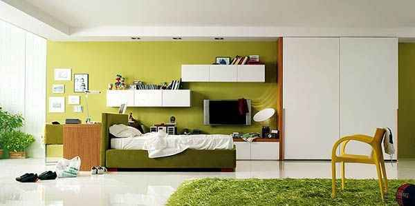Model Kamar Tidur Minimalis Untuk Remaja yang Unik