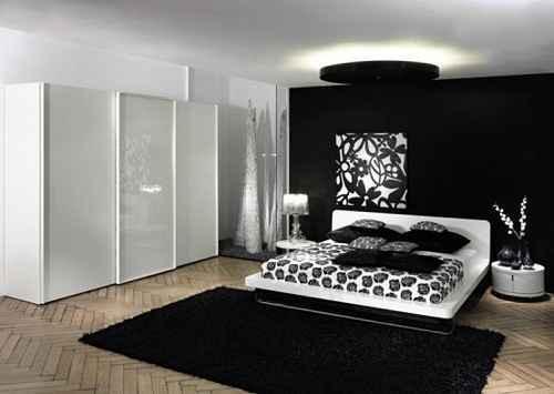 Desain Kamar Tidur Konsep Hitam Putih yang Menarik dan Elegan