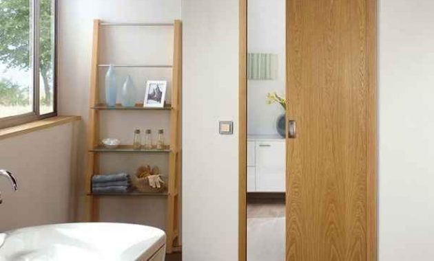 Desain Pintu Kamar Mandi Minimalis yang Modern