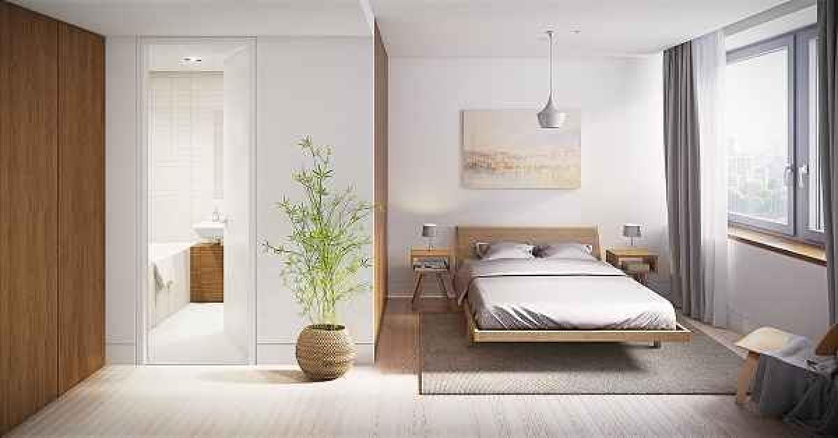 Desain Interior Kamar Tidur Utama 4x3  inspirasi desain kamar tidur utama minimalis yang elegan dan