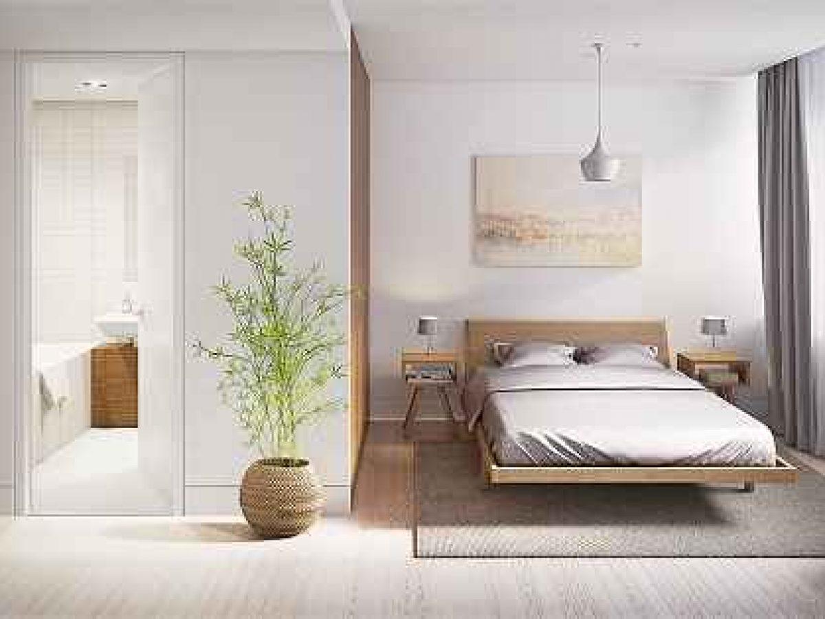 inspirasi desain kamar tidur utama minimalis